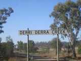 Picture relating to Derri Derra Creek - titled 'Derri Derra Creek'