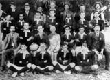 Picture relating to Barcaldine - titled 'Barcaldine football team, ca. 1913'