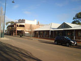 Picture relating to Hillston - titled 'Main street and hotel Hillston NSW'