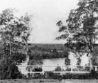 Picture relating to Brisbane River - titled 'View from Toowong looking across the Brisbane River, ca. 1885'
