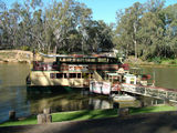 Picture relating to Echuca - titled 'M. V. Mary Ann Cruising Restaurant Echuca'
