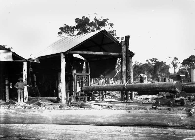 Picture of / about 'Biggenden' Queensland - Sawmill at Bigenden