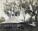 Picture relating to Dillalah - titled 'Dining tent at the shooting camp, Dillalah, August 1907'
