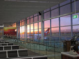 Picture of / about 'Adelaide Airport' South Australia - Sunset at Adelaide Airport