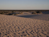 Picture relating to Lake Mungo - titled 'Dune sunset @ Lake Mungo'