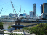 Picture relating to Brisbane - titled 'Kurilpa Bridge, Brisbane'