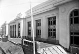 Picture relating to Parliament House - titled 'Close up of front of Old Parliament House'