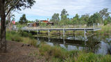 Picture relating to Western Sydney Parklands - titled 'Western Sydney Parklands Restaurant, Visitor Centre, Wetlands'