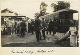 Picture relating to Gordonvale - titled 'Sir John Goodwin and Lady Goodwin arriving at Gordonvale, Queensland, 1928'