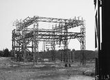 Picture relating to Kingston - titled 'Electrical transmission switchyard at the Kingston Power Station'