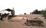 Picture relating to Springdale - titled 'Old farm machinery, vicinity of Springdale'