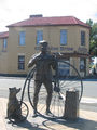 Picture relating to Evandale - titled 'Statue of 'The Time Traveller' Evandale'