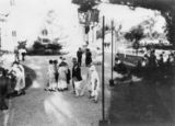 Picture relating to Jimbour - titled 'Looking along the gravel driveway encircling Jimbour House, 21 November 1925'