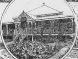 Picture of / about 'Blackall' Queensland - Sketch of the Bank of New South Wales Blackall branch, 1896