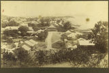 Picture relating to Townsville - titled 'Townsville's North Ward viewed from Melton Hill, ca. 1895'