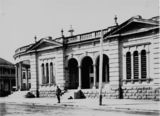 Picture relating to Queensland - titled 'Registrar General's Office, Brisbane ca. 1890'