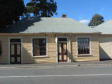 Picture relating to Evandale - titled 'Old saddlers' workshop Russell Street Evandale'