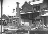 Picture relating to Yarralumla - titled 'Alterations to Government House, southern facade. Yarralumla.'