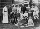Picture relating to Kobble Creek - titled 'School portrait of Kobble Creek State School, Queensland, 1914'