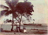 Picture of / about 'Thursday Island'  - Thursday Island - SS (Steam Ship) Empire and jetty