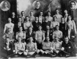 Picture relating to Ipswich - titled 'Catholic Young Men's Society Football Club, Ipswich, 1912'