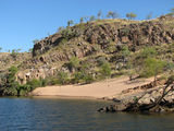 Picture relating to Katherine Gorge - titled 'Sandy beaches'