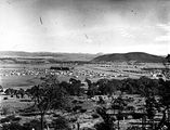 Picture relating to Braddon - titled 'Reid, Braddon and Civic Centre from Mt Ainslie, Ainslie Hotel on the right.'