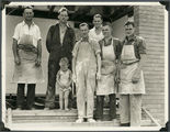 Picture relating to Mount Isa - titled 'George Nixon and workmates, Mount Isa, 1937'