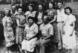Picture relating to Queensland - titled 'Bell family, ca. 1953'