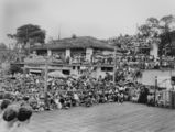 Picture of / about 'Suttons Beach' Queensland - Crowd watching the Sun Girl Quest at Suttons Beach, 1953