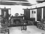 Picture relating to Red Hill - titled 'Interior of House of George Romano, Mugga Way, Red Hill. Bathroom.'