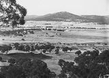 Picture relating to Red Hill - titled 'View from Red Hill to Mount Ainslie over Capital Hill and Anzac Parade, East Block Offices in centre.'