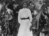 Picture relating to Farnborough - titled 'South Sea Islander woman at Farnborough, Queensland, ca. 1895'