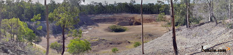Picture of / about 'Crows Nest Road Mine' New South Wales - Crows Nest Road open Pit Mine
