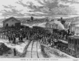 Picture relating to Stanthorpe - titled 'Opening of Stanthorpe Railway Station, Queensland, 1881'