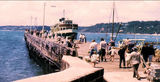 Picture relating to Mornington - titled 'Manly Ferry 'North Head' at Mornington 1960s'