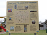 Picture of / about 'Willow Tree' New South Wales - Liverpool Plains map