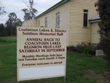 Picture of / about 'Coalstoun Lakes' Queensland - Coalstoun Lakes - Soliders Memorial Hall