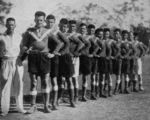 Picture relating to Cracow - titled 'Australian Rugby Union (Wallabies) team in Cracow, 1935'