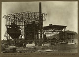 Picture relating to Mount Isa - titled 'Power plant under construction, Mt. Isa Mines, 1932'