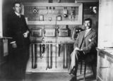 Picture relating to Pittsworth - titled 'Operators at the telephone exchange in the post office, Pittsworth, ca. 1910'