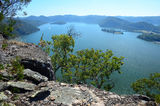 Muogamarra Nature Reserve This is the view looking over the Hawkesbury River system at the terminus of the main walk