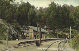 Picture relating to Spring Bluff - titled 'Spring Bluff Railway Station near Toowoomba, ca. 1907'