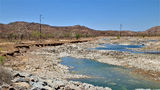 Picture relating to Lake Argyle Road - titled 'Lake Argyle Road - spillway Creek'