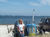 Picture relating to Lancelin - titled 'Lancelin at Easter Time Sue Pryer Old Fordson'
