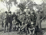 Picture relating to Dillalah - titled 'Shooting party at Dillalah, Queensland, August 1907'