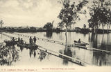 Picture relating to North Rockhampton - titled 'North Rockhampton during the 1890 flood'