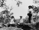 Picture of / about 'Blackall' Queensland - Outing at Tithrungli Mountain in the Blackall District, 1905