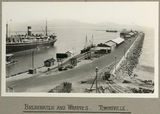 Picture relating to Townsville - titled 'Breakwater and wharves at Townsville, 1924'