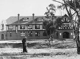 Picture relating to Deakin - titled 'St. Gabreils Church of England Girls Grammar School, Empire Circuit, Deakin.'